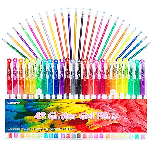 Glitter Colored Refills Coloring Doodling product image