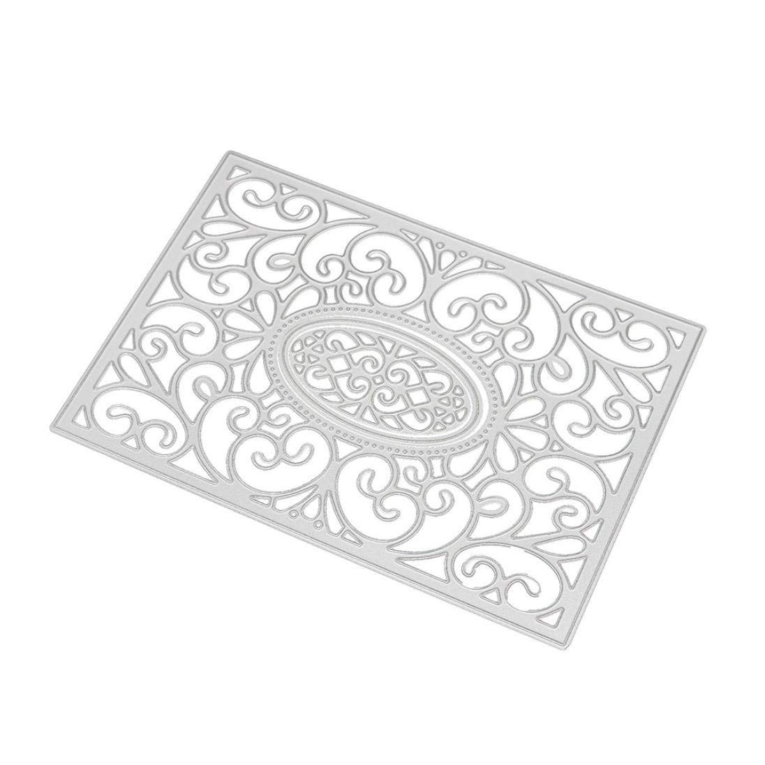 Fabal Frame Metal Cutting Dies DIY Album Scrapbook Card Bookmark Decor Tools Cutting Dies for Scrapbooking (C) by Fabal (Image #2)