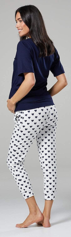 Mujer remam/á Conjunto de Pijama Embarazo Lactancia.071p HAPPY MAMA