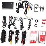 サラウンドビューデジタルビデオレコーダー、車の運転レコーダー、駆動録画カメラDV360-3DB(3D + 1080P)、サポートUディスク、TFカード録画