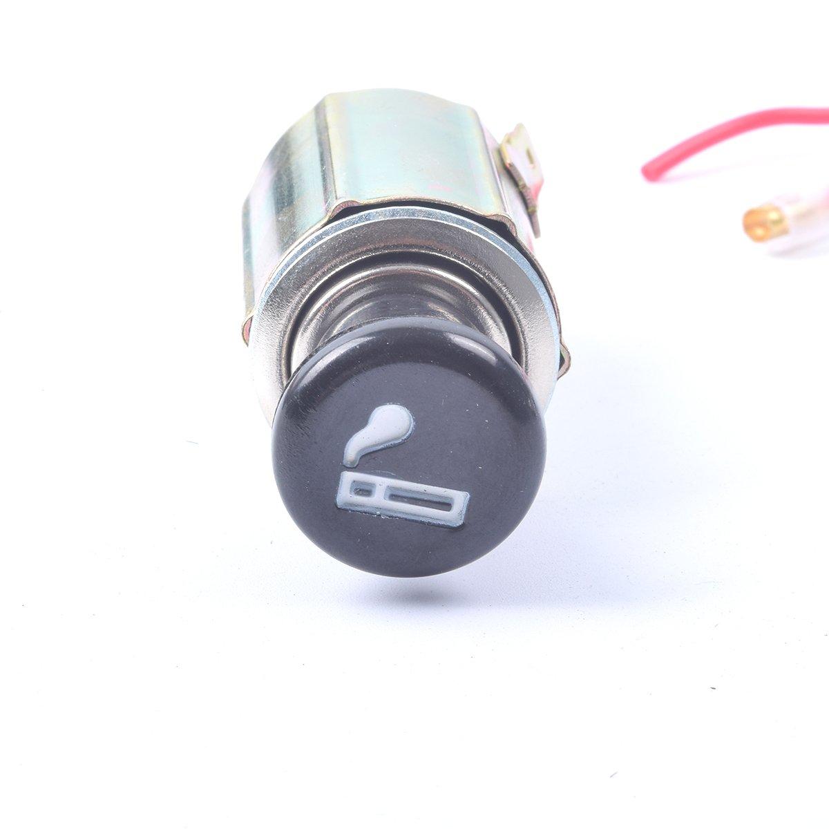 Ekylin Dc 12v Car Auto Cigarette Lighter Replacement F250 Super Duty 1999 Fuse Box Vacuum Pump Plug Socket Assembly Set Automotive