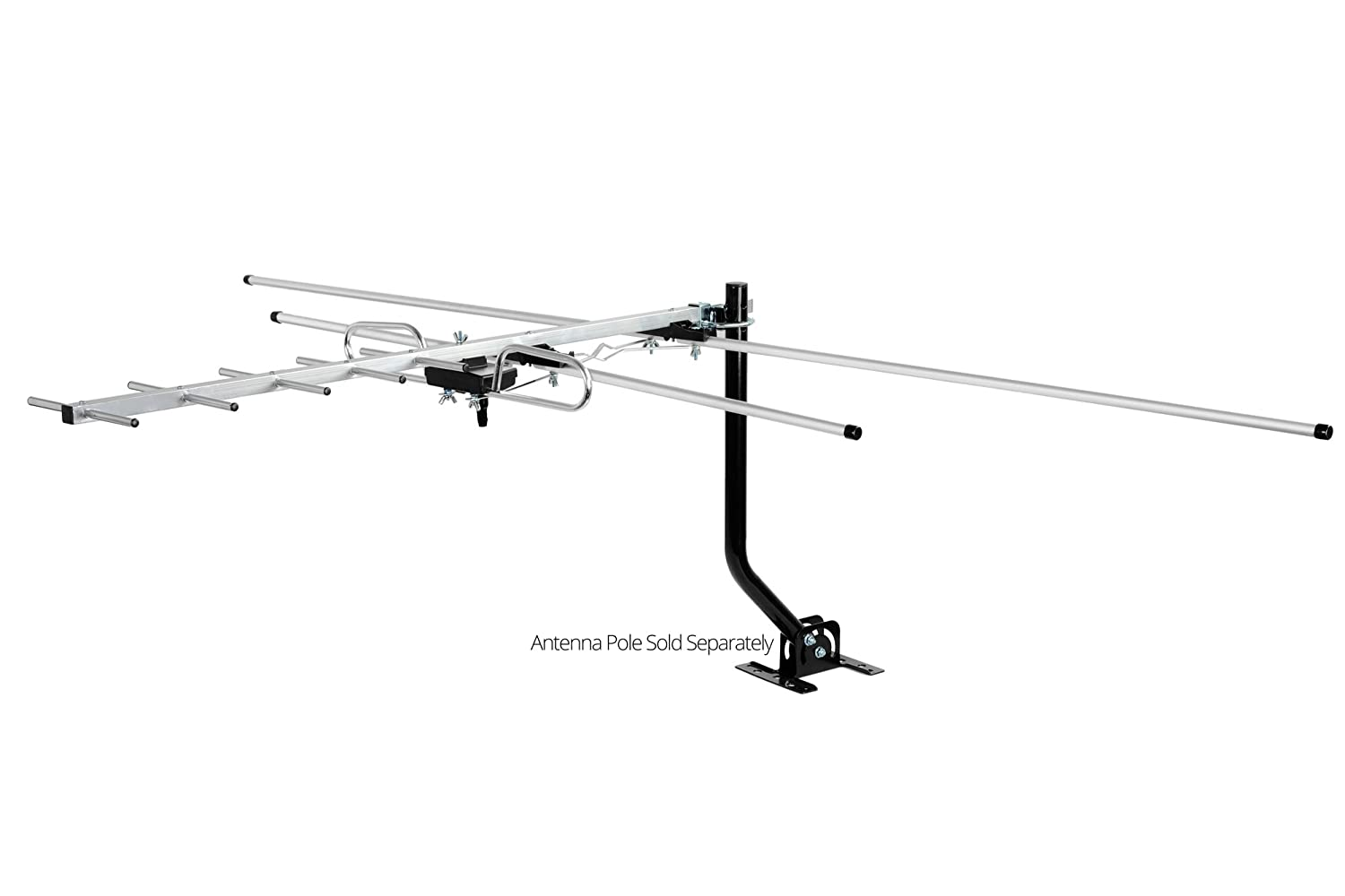 ViewTV DA-290 Indoor/Outdoor Compact Yagi HDTV Antenna for Roof or Attic - 80 Miles Range 4330082223