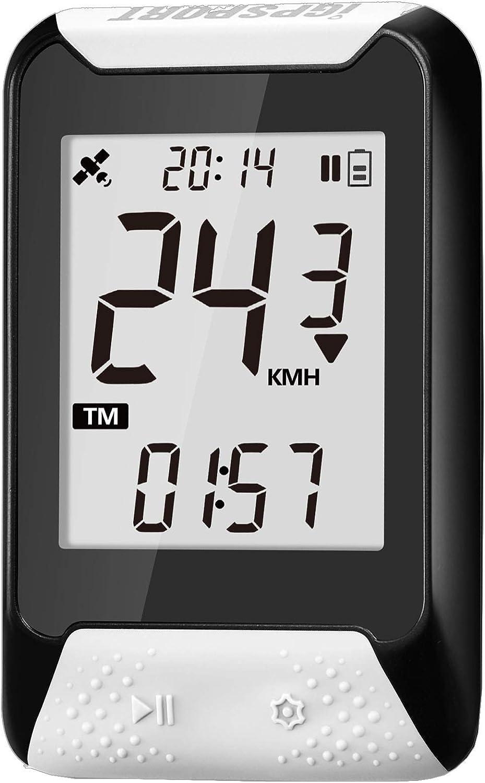 iGPSPORT iGS130 (Versión española) - Ciclo computador GPS Bicicleta y Ciclismo. Cuantificación y grabación de Datos y rutas. Sencillez de Uso. IPX7