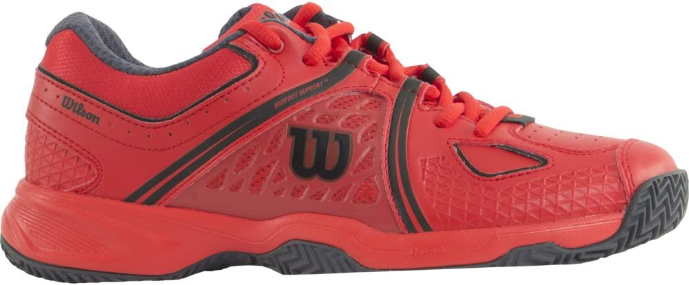 WILSON NVISION CLAY COURT ROJO COAL: Amazon.es: Deportes y aire libre