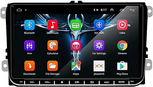 Goforjump 2 Din Android 9 Inch Gps Navigation System Car Radio Media Player For Bora Golf Vw Polo Volkswagen Passat B6 B7 Touran Auto
