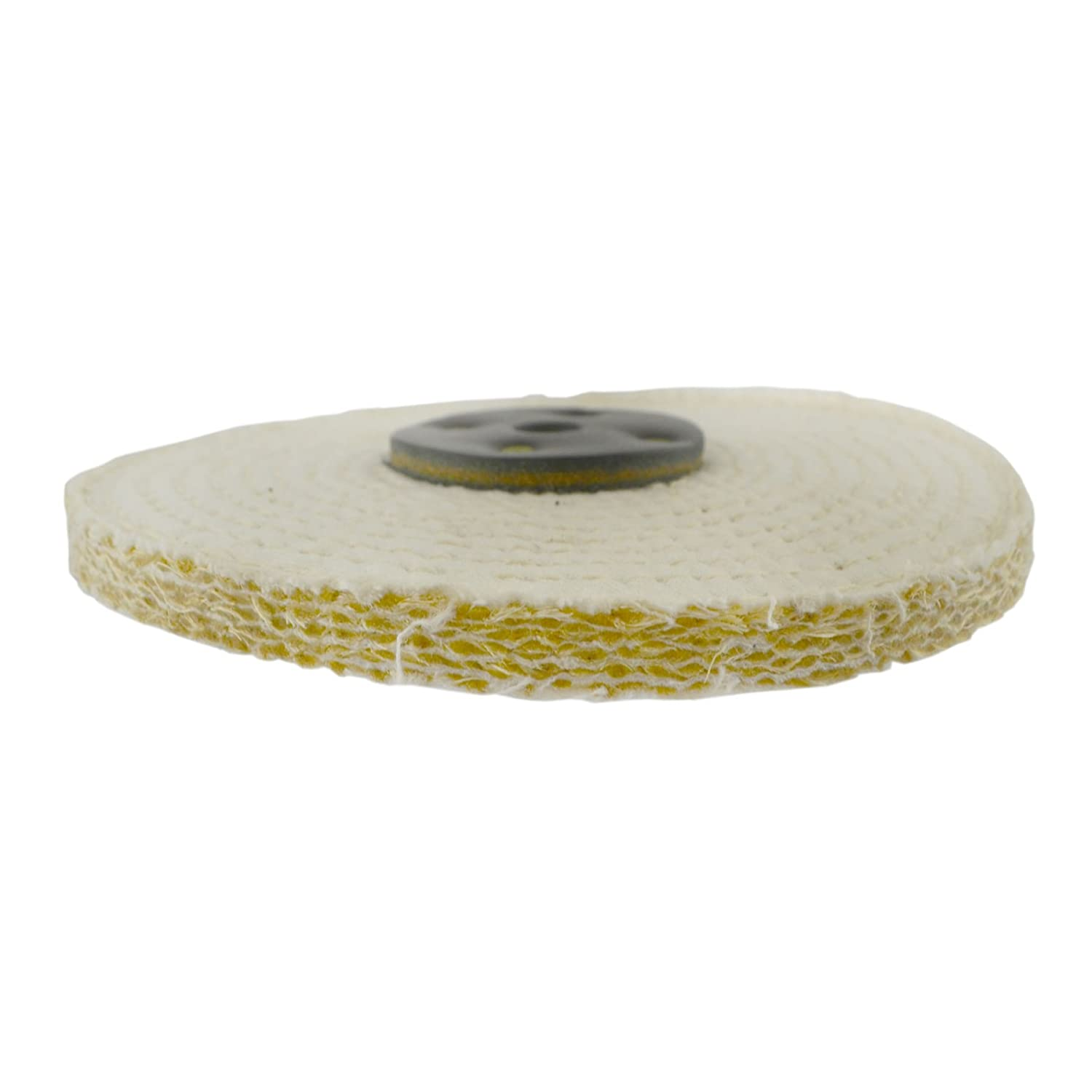 Coarse Sisal Fast Cut Buffing Polishing Mop 6 x 0.5 1 Section 1st Stage Metal