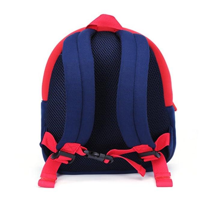 Resistente al agua mochila bebé mochila bolso de escuela niños mochila infantil neopreno duradero 3d Cartoon oso Polar de la mochila: Amazon.es: Bebé