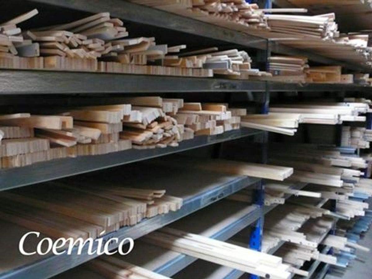 Gr/ö/ße:760 x 25 x 8 Coemo Set 5 STK Ersatz Federholzleisten Ersatzleisten Lattenrost Ersatzteile