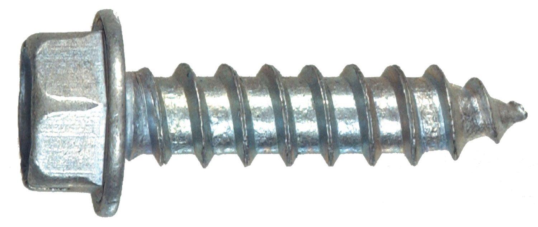 Hillman Sheet Metal Screws No. 8 X 3/4 '' Hex Head/Slotted Hex Head Box 100 by The Hillman Group