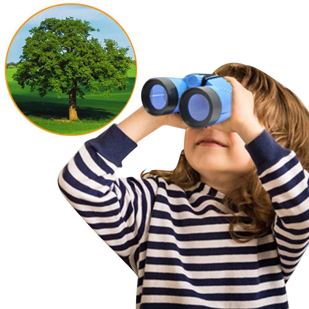 Honey MoMo Fernglas Spielzeug tragbare Kinder Fernglas Outdoor Vogelbeobachtung Stern starrt Geburtstagsgeschenk Spielzeug zuf?llige Farbe