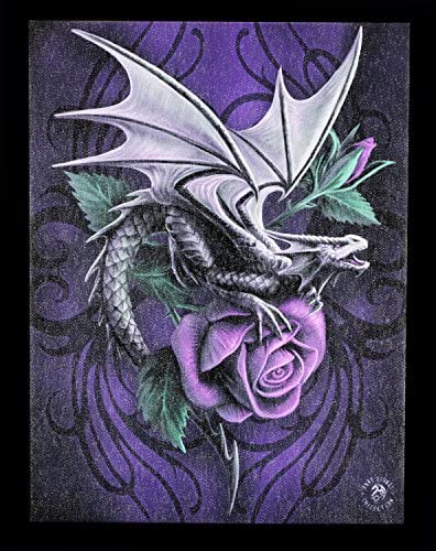 Elfe Sterne Bild Poster Fantasy Kleine Leinwand Stargazer by Anne Stokes