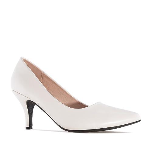 Andres Machado. AM5286.Salón en Soft .Mujer.Tallas Pequeñas Grandes.  32 35-42 45.  Amazon.es  Zapatos y complementos 5e34c6a2f7cf