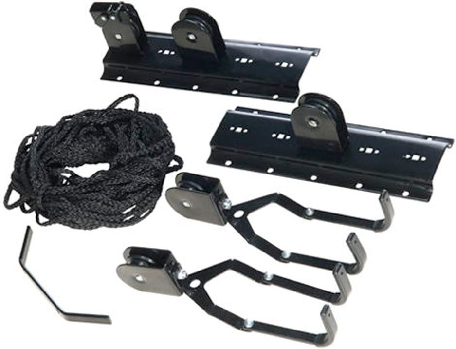 WOLFPACK 5411200 - Soporte de techo para bicicleta con poleas