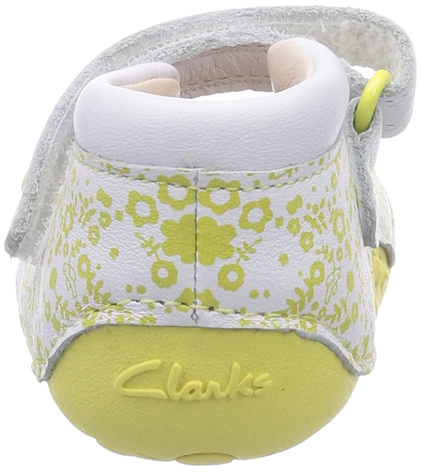 Clarks Little Esme Baby Girls Crawling Baby Ballet Flat Yellow