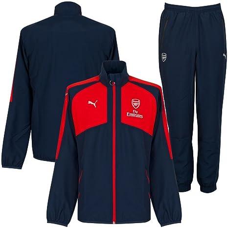 Arsenal Presentation Suit - Rojo/Azul 2016 2017, hombre, Red ...