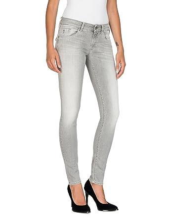 4a0ef63f98d8 Replay Damen Luz Back Zip Skinny Jeans