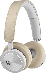 Bang & Olufsen Beoplay H8i Wireless On-Ear Headphones, Bluetooth Advanced Active Noise Cancelling Headphones, Natural
