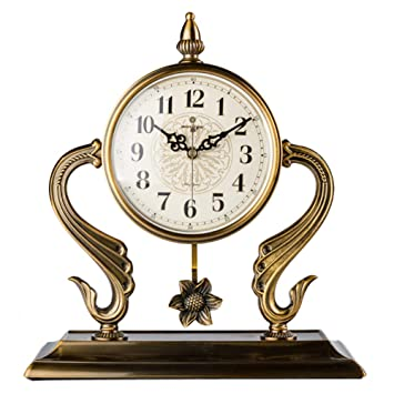 HQ Relojes De Escritorio Reloj De Mesa con Cuarzo AnalóGicos ...