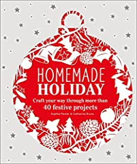 Bring the magic of a handmade Christmas into your home with 40 projects for gifts, decorations, and homemade wrapping paper.       Save time and money with the festive craft projects in Homemade Holiday. Clear, step-by-step instruction...