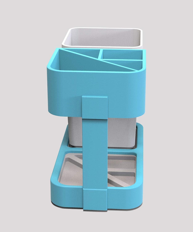 ZXR.Elwood Cepillo de Dientes el/éctrico con Base de Almacenamiento Soporte Cepillo portac/ápsulas Charing Base Oral Accesorios Higiene