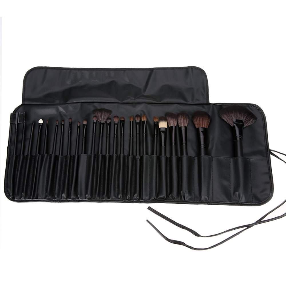 Guisee pennelli da trucco set professionale, Pennelli per il Trucco set da 24 pezzi con astuccio