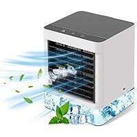 Draagbare airconditioner, mini mobiele airconditioners, tafelconditioner, verdampingskoeler, 3 instelbare snelheden…