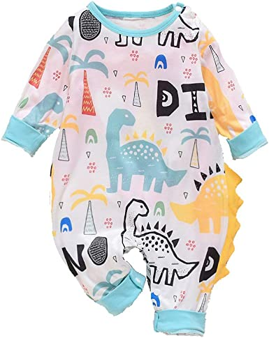 Baby Infant Boy Girls Newborn Cotton Love Mom Dad Romper Clothes Jumpsuit RJU