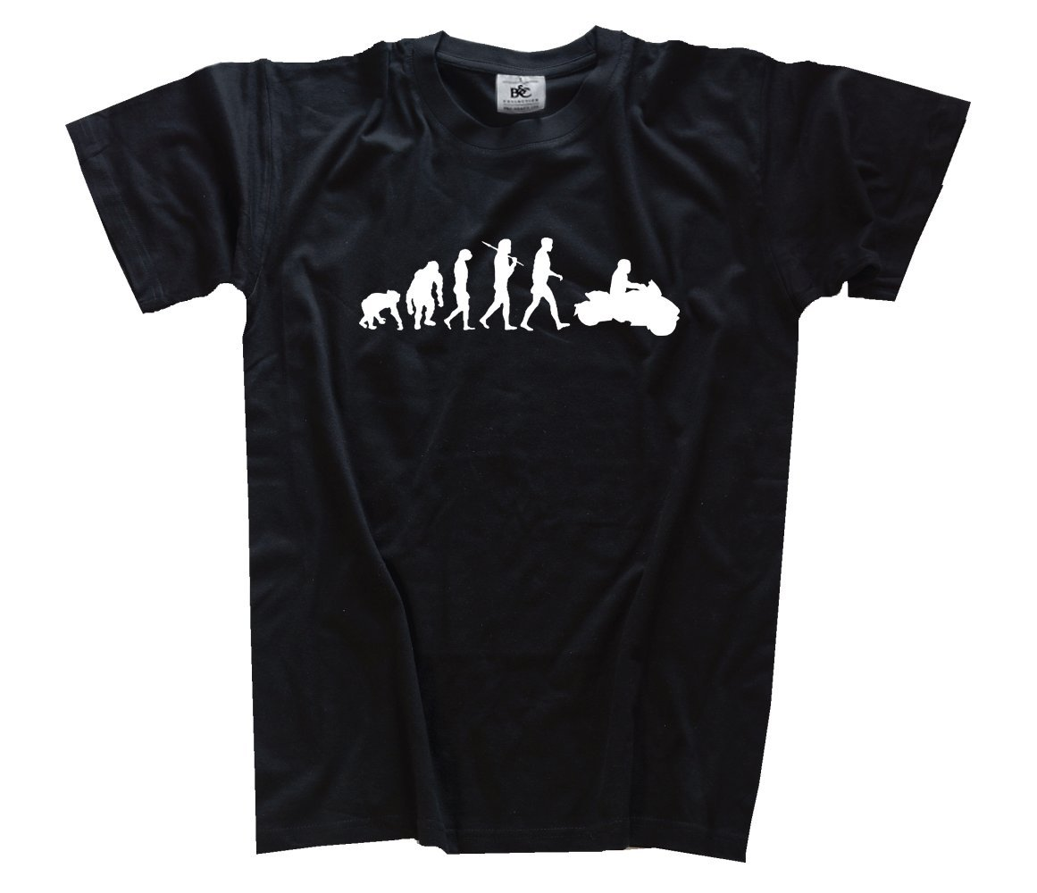 Shirtzshop T-shirt Evolution Lehrer B00PSQT15G T-Shirts Schön