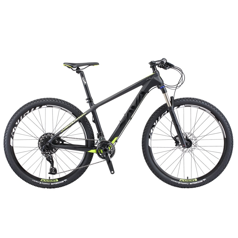 SAVADECK DECK300 Carbon Fiber Mountain Bike Complete Hard Tail MTB