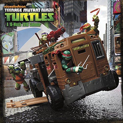Teenage Mutant Ninja Turtles 2018 Wall Calendar - Turtle Stack