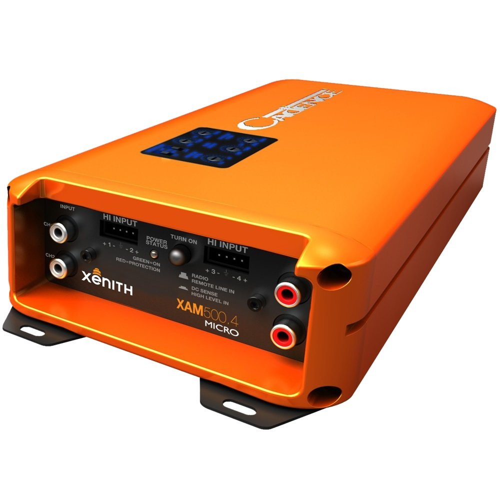 Amazon.com: Cadence XAM400.2 800W 2-Channel Xenith XAM Series Class D Full  Range Amplifier: Car Electronics
