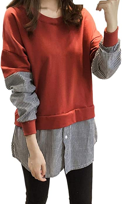 Mujer Sudaderas, ASHOP Blouses Campesinas Sweatshirt 3D ...