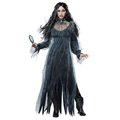 Captivating Halloween Dead Corpse Bride Costume Women Long Dress Scary Zombie Ghost  Bridal Cosplay