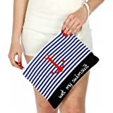 Crown Waterproof Water Resistance Beach Purse Bikini Bag with Wrist Strap