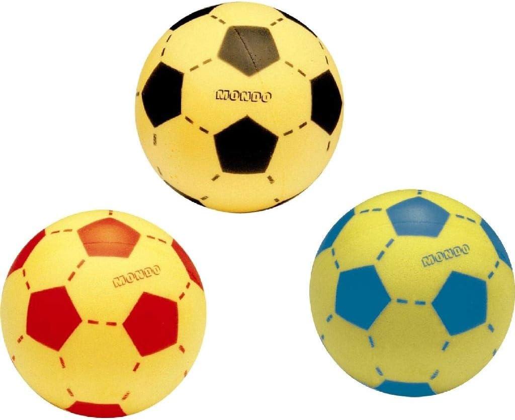 Mondo 07852 - Pelota de Fútbol de espuma, Diámetro 200 mm, surtido ...