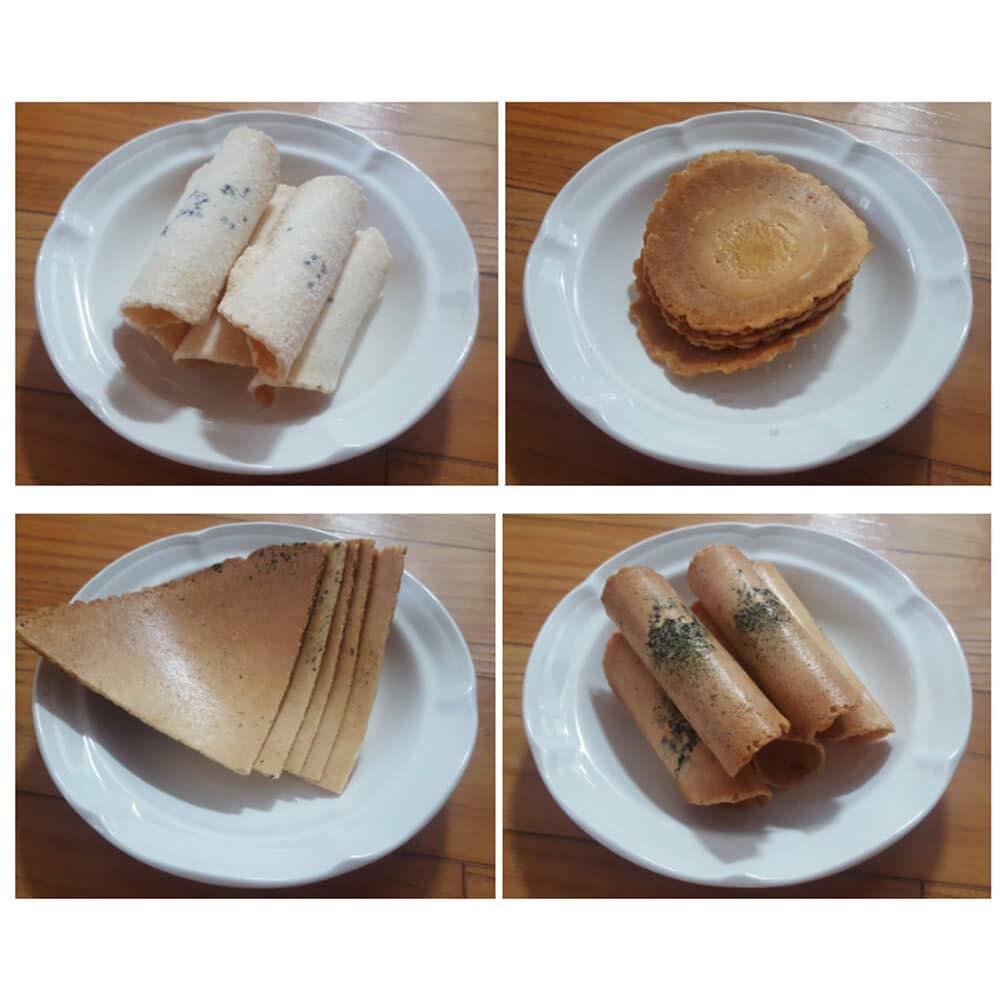 Jungdaun Food Korean Traditional Cookie Set, 4-Flavor, 28.2 oz by Jungdaun Food (Image #4)