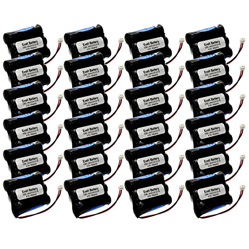 24x Exell 4.5V Door Lock Battery Fits VingCard Type 3 LCU Classic Mag