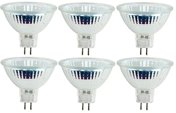 3 Starlight x10 50 W MR16 de intensidad regulable Dicrhoic Reflector set de bombillas hal/ógenas de bajo voltaje 12 V GU5