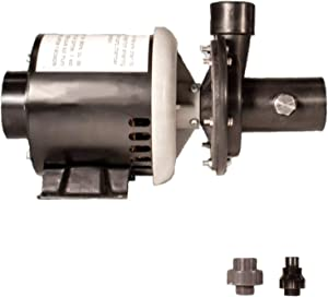 Ridgemax 1/3 Laundry Tub Pump with 1450 GPH Capacity for Use with Wet Bars, Vanities and Utility Sinks; Mounts Directly to Laundry Tub for Permanent Installation