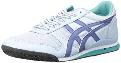 Onitsuka Tiger Women's Ultimate 81 Classic Running Shoe, Blue Bell/Blue  Grass, 6.5