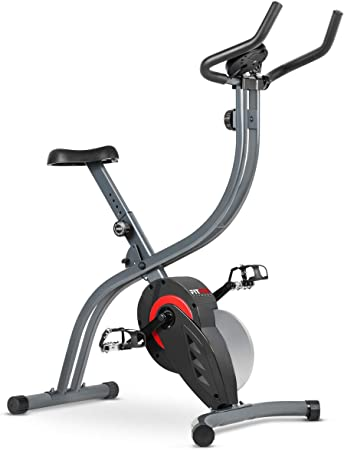 Fitfiu - BESPX7 Bicicleta estatica plegable ergonómica, gris, talla única: Amazon.es: Bricolaje y herramientas