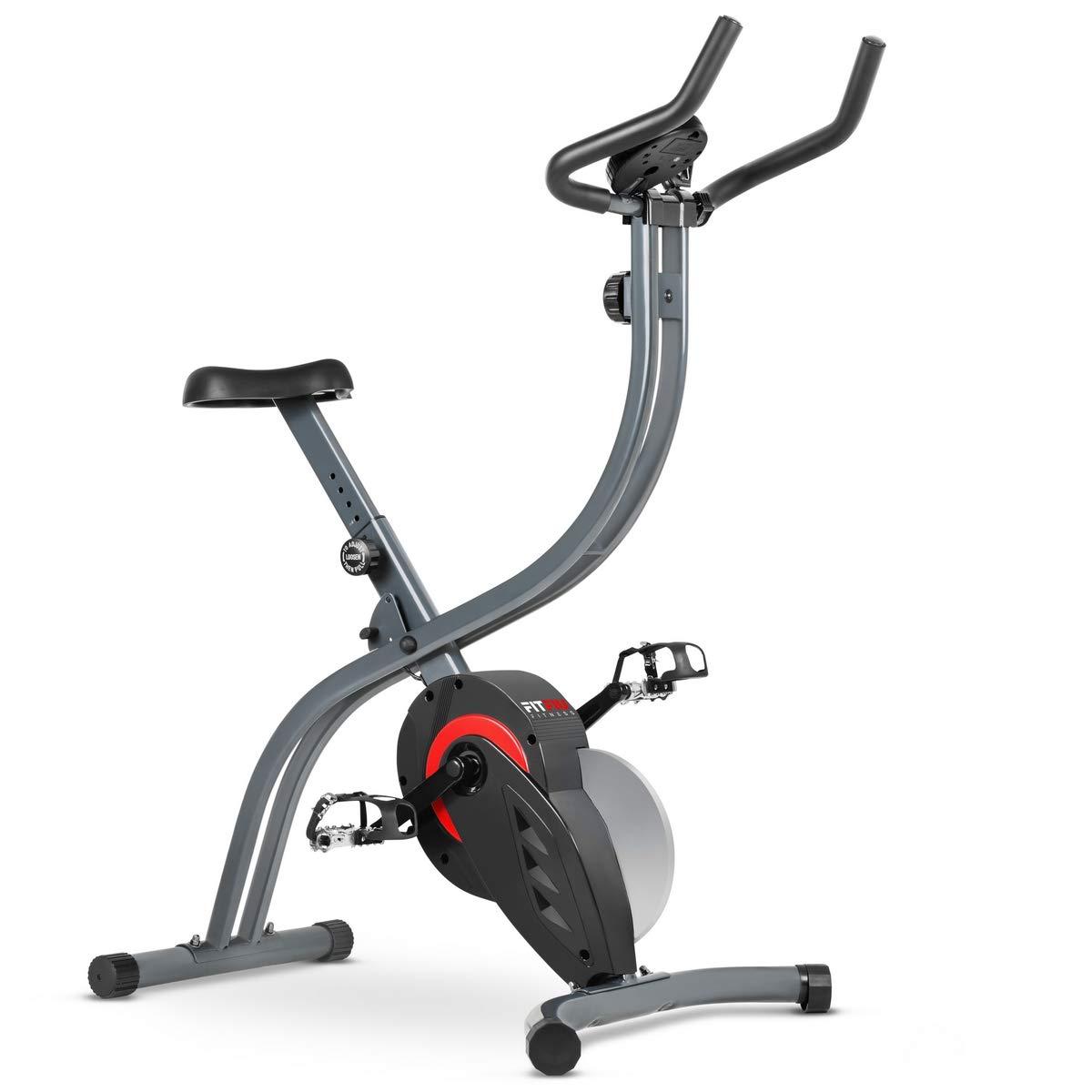 Fitfiu Besp-X7 Ergo-Heimtrainer-Fahrrad, Grau, Einheitsgrösse