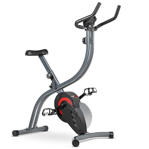 Fitfiu - BESPX7 Bicicleta estatica plegable ergonómica, gris ...
