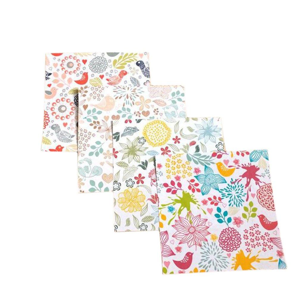 80x da.WA origami pieghevole 10*10cm in 4diversi motivi