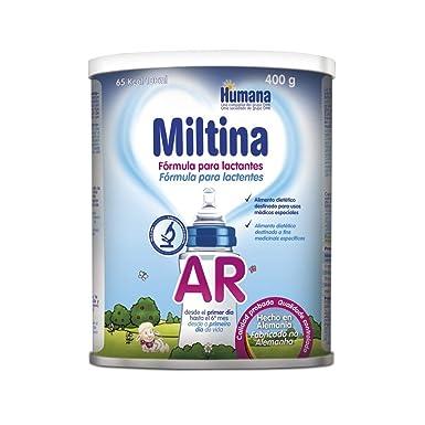 MILTINA AR, leche especial en caso de reflujo gastroesofágico desde el nacimiento, 400g