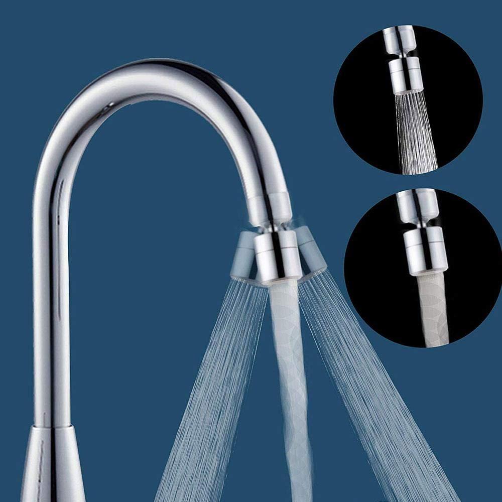 robinet anti-/éclaboussure pour filtre d/économiseur deau pour cuisine adapt/é aux interfaces de filetage de 22mm A/érateur de robinet t/ête de robinet d/évier pivotant avec bec de buse r/églable