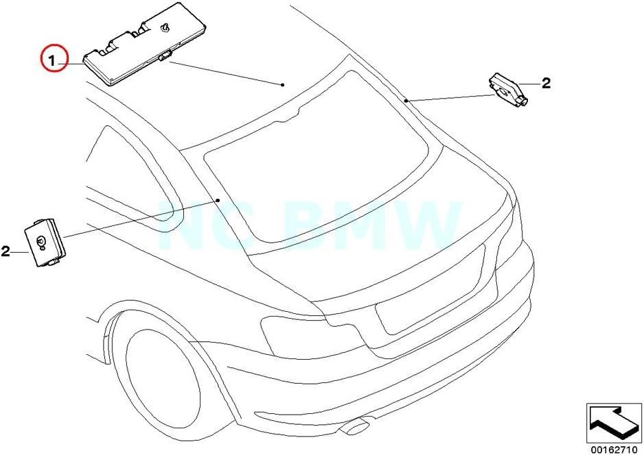 BMW Antena Amplificador diversidad: Amazon.es: Coche y moto