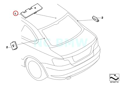 Amazon Com Bmw Genuine Antenna Amplifier Diversity Automotive