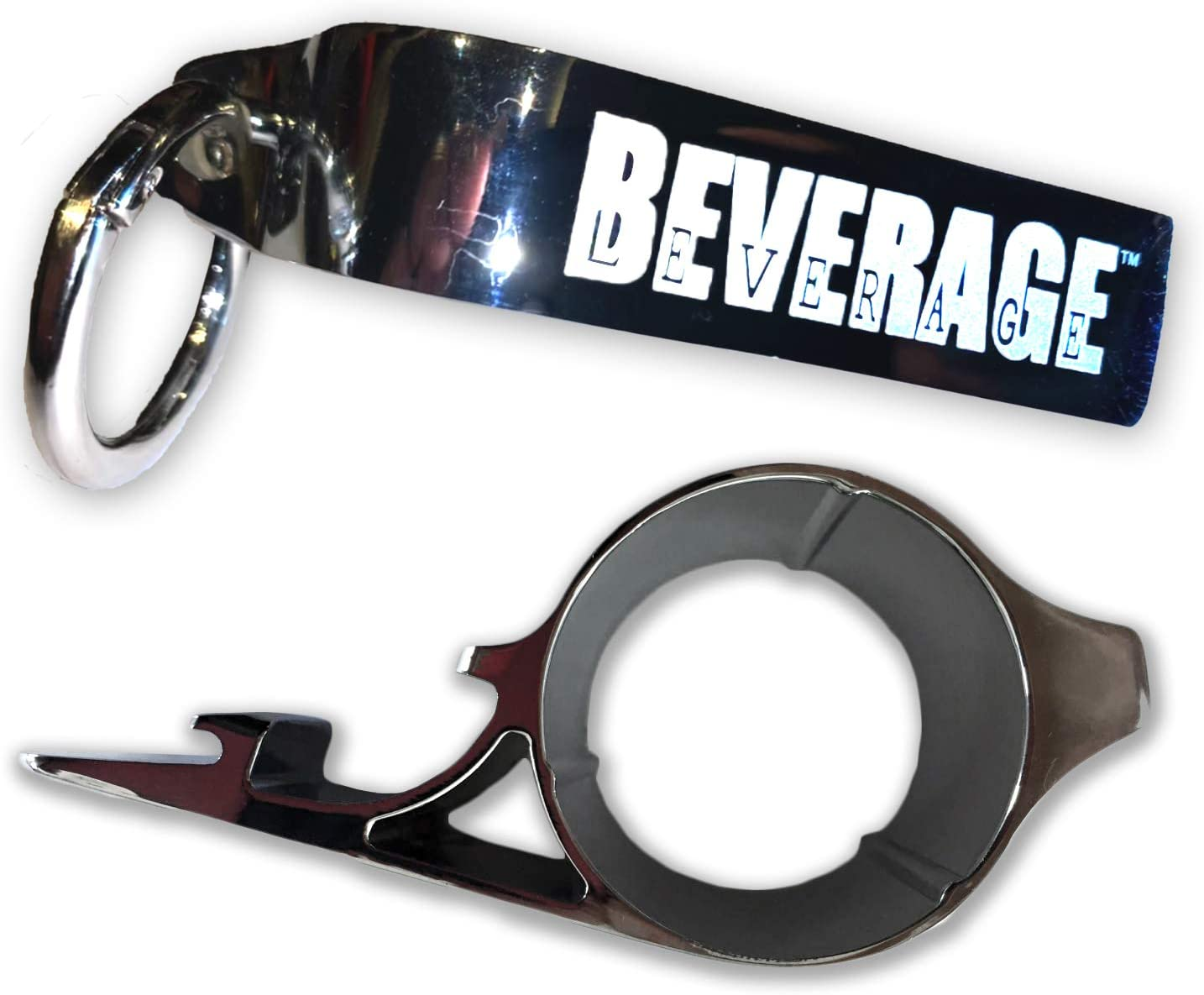 Portable Multi-function Beverage and Can Opener for All Ages and Those with Hand Arthritis PLUS Phone Cradle