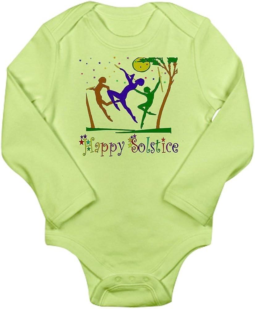 CafePress Winter Solstice Dancers Long Sleeve Baby Bodysuit